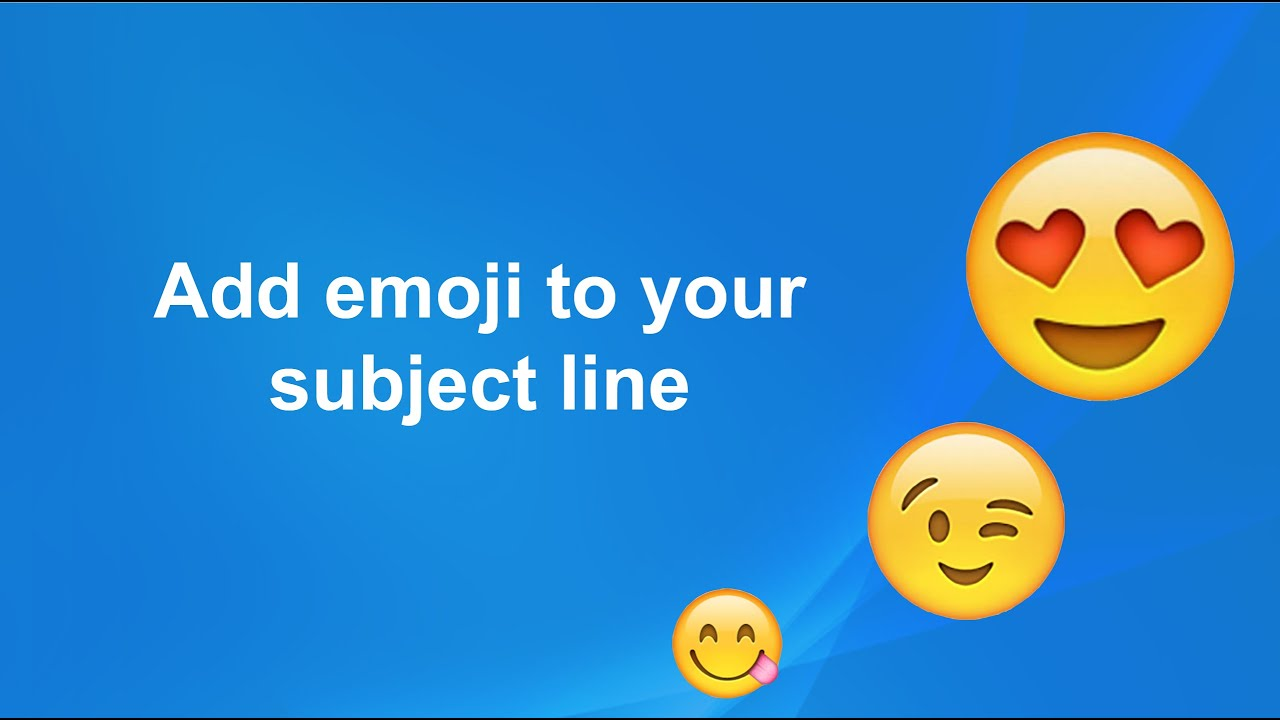 Optimize your Emails By using Emojis