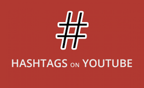 Using Youtube Hashtag